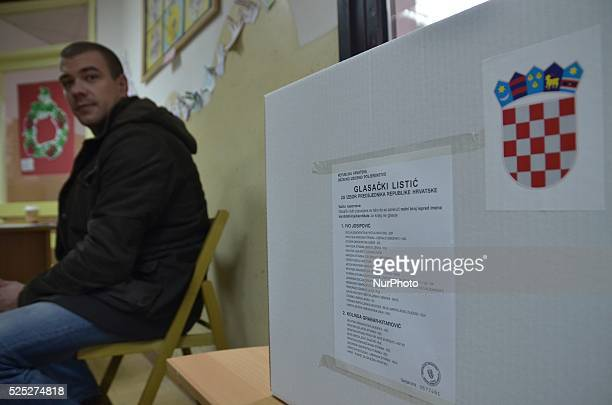 Citizens in the second round of the presidential election will decide who will be President of Croatia on 11 Jan 2015 ZagrebCroatia