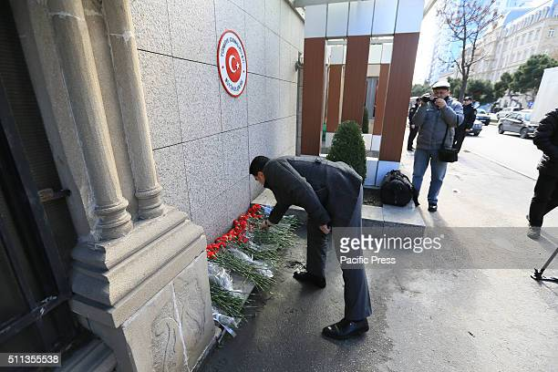 Citizens of Baku and other organizations held a demonstration before the Turkish Embassy in Baku in remembrance of the victims of the terrorist...