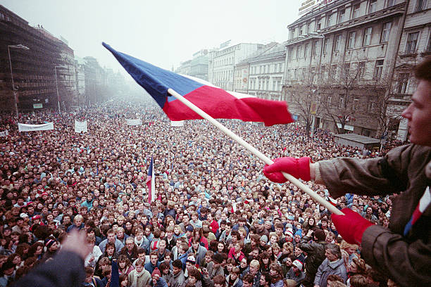 CZE: 17th November 1989 - 30 Years Since Czechoslovakia's Velvet Revolutionq