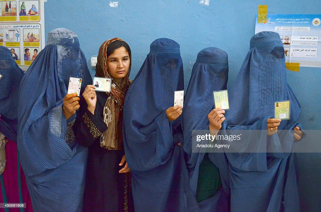 Presidential election in Afghanistan : News Photo