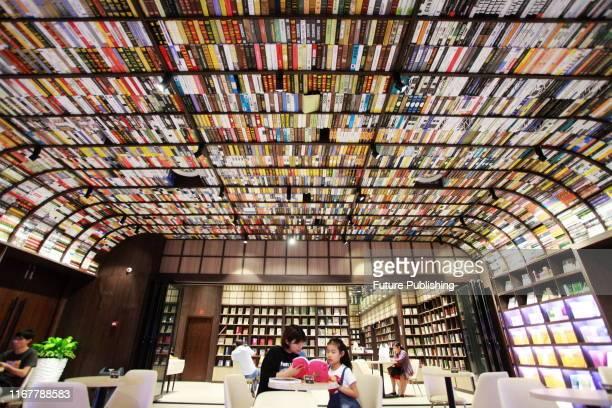 Citizens read books at zhongshuge bookstore in yangzhou east China's jiangsu province Sept 13 2019 PHOTOGRAPH BY Costfoto / Barcroft Media