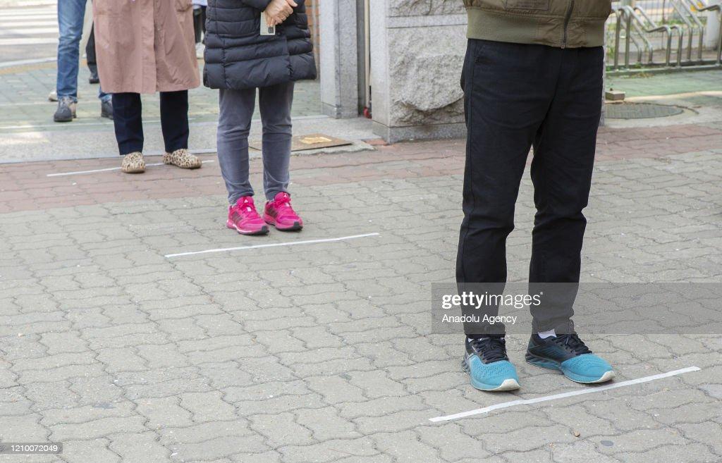 21st General Election in South Korea : ニュース写真