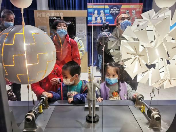CHN: Children Visit Beijing Planetarium