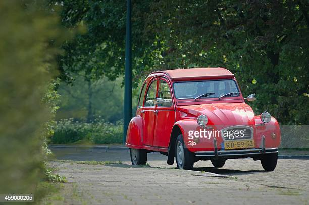 citroen 2cv - ugly duckling stock photos and pictures