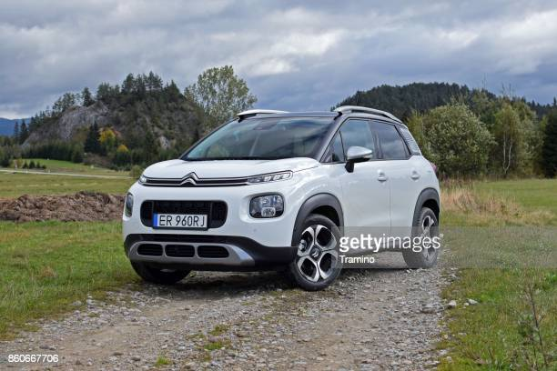 Citroen C3 Aircross on the road