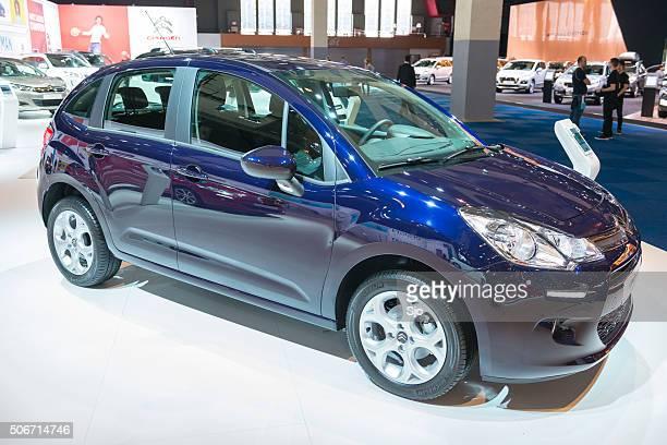 Citröen C3 hatchback de automóvel compacto