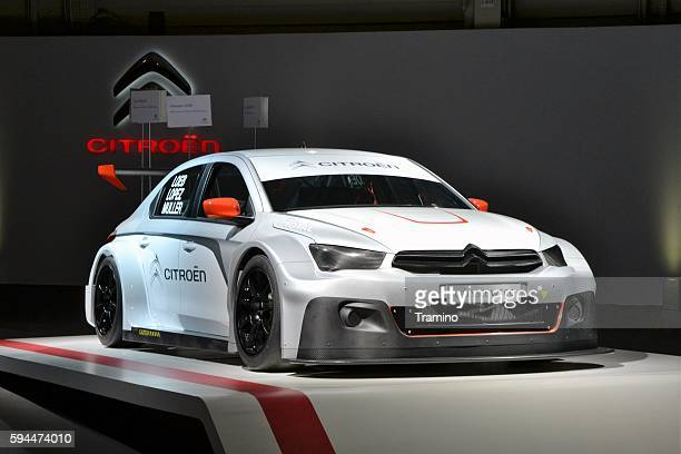 citroen c-elysee in a race car version - rally car stock photos and pictures