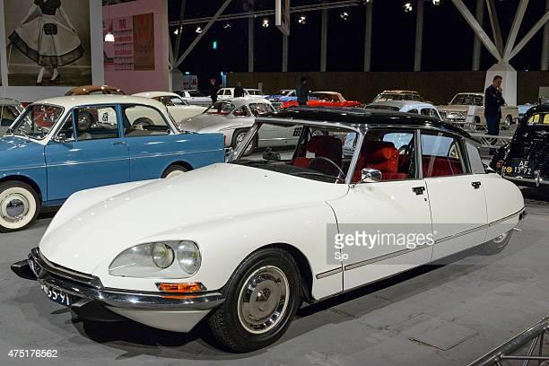 citroen ds classic luxury car - citroën ds stock photos and pictures