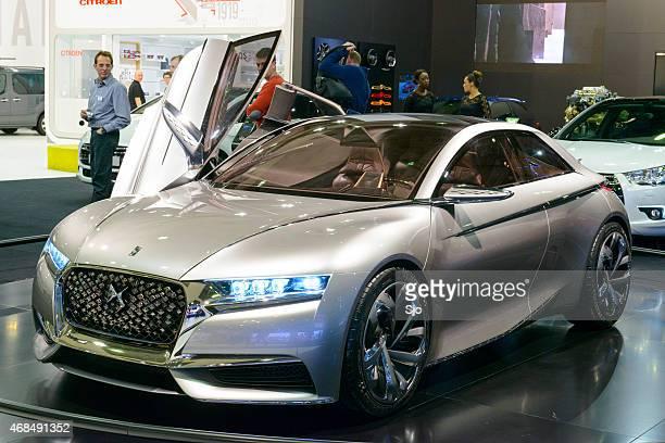 "citroen divine ds concept car front view - ""sjoerd van der wal"" or ""sjo"" stock pictures, royalty-free photos & images"
