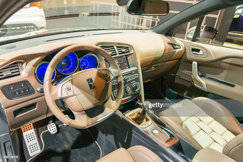 Citroen Ds4 Hatchback Car Interior Stock Photo | Getty Images