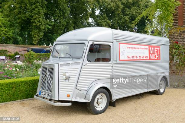 Citroen HY classic panel van parked in a park