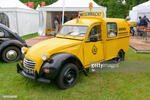 Citroën 2CV AZU ANWB Dutch roadside rescue van