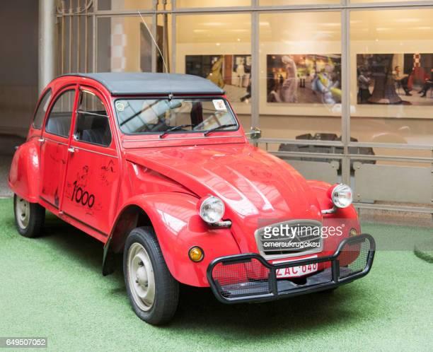 Citroën 2cv en Comics Art Museum, Bruxelles