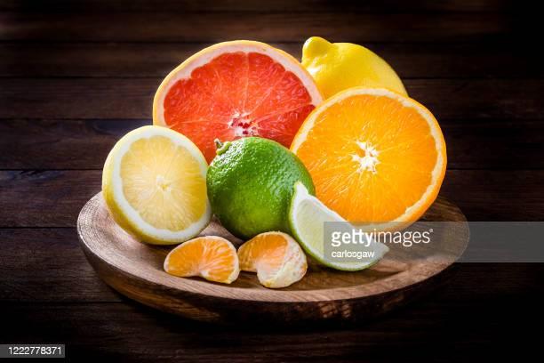 citrus fruits - ascorbic acid stock pictures, royalty-free photos & images