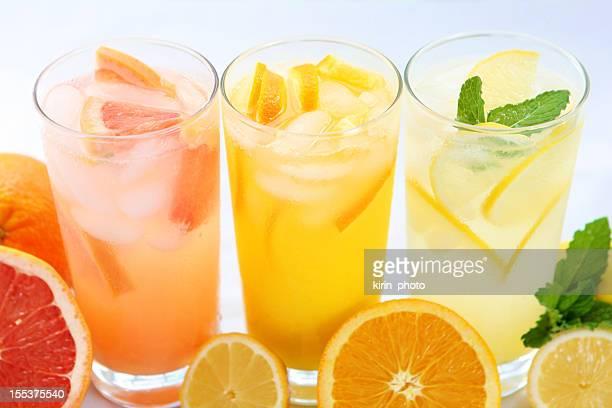 柑橘系のジュース