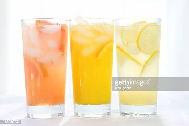 citrus juices - lemon soda stock pictures, royalty-free photos & images
