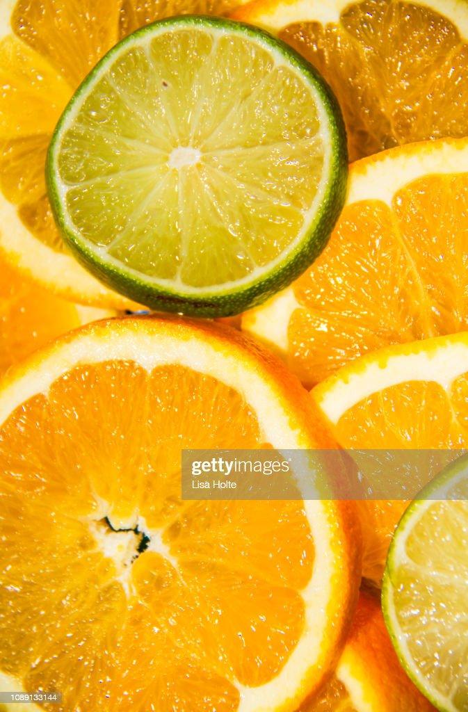 Citrus Vibes : Stock Photo