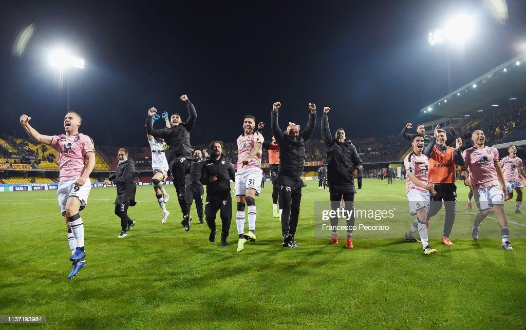 Benevento v US Citta di Palermo - Serie B : ニュース写真