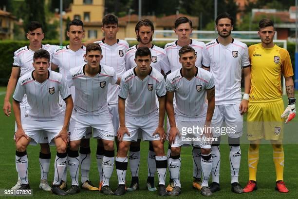 Citta' di Palermo U19 poses during the SuperCoppa primavera 2 match between Novara U19 and US Citta di Palermo U19 at Centro Tecnico Federale di...