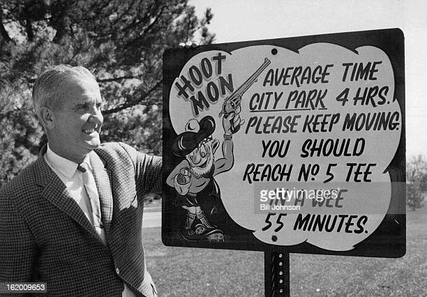 APR 27 1969 City Adopts Sign Plan in Order to Speed Up Golf Play Charles Lnd director of sports for the DenveT Recreation Department has come up with...