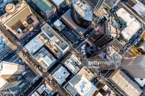 city aerial phoenix - generic location stock pictures, royalty-free photos & images