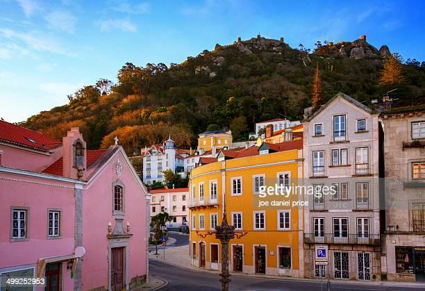 City and Moors Castle, Sintra, Lisbon, Portugal