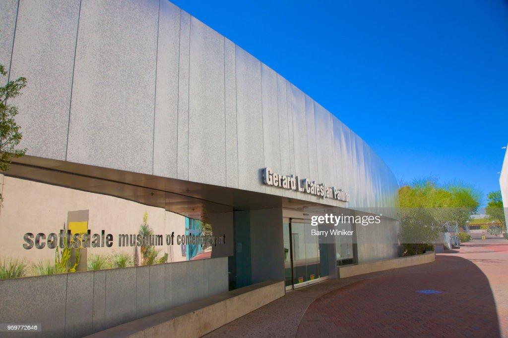 City art museum in downtown Scottsdale, AZ : Stock-Foto