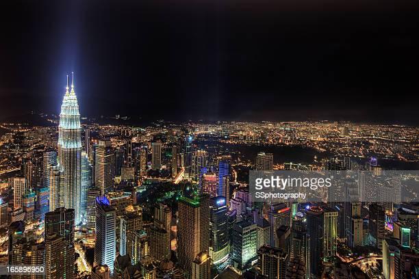 KL City at Night