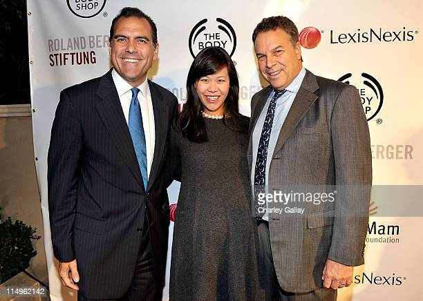 City Attorney Rocky Delgadillo Mei Sze Greene and Jeff Greene arrive at the Somaly Mam Foundation's 2nd annual Los Angeles Gala held at a private...