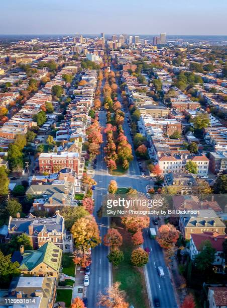 city avenue - richmond virginia stock pictures, royalty-free photos & images