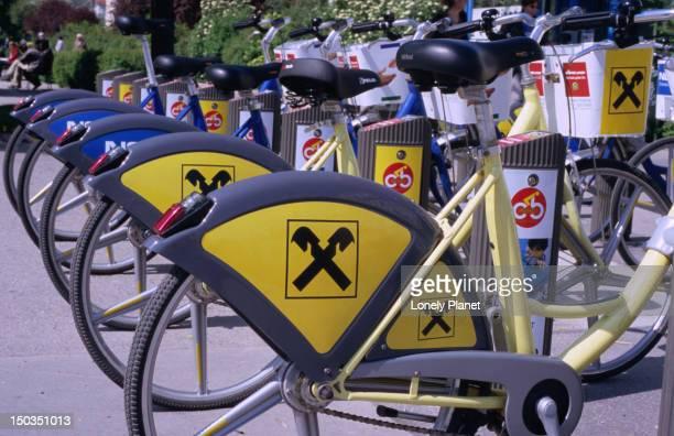 City Bike racks, Innere Stadt.
