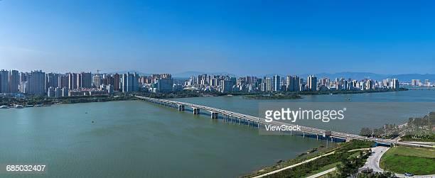 City building in Qingyuan City,Guangdong Province,China