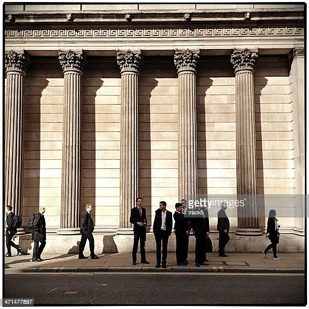 city business men - central bank stock pictures, royalty-free photos & images