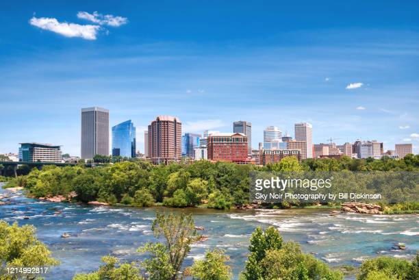 city by the river - richmond virginia stock pictures, royalty-free photos & images