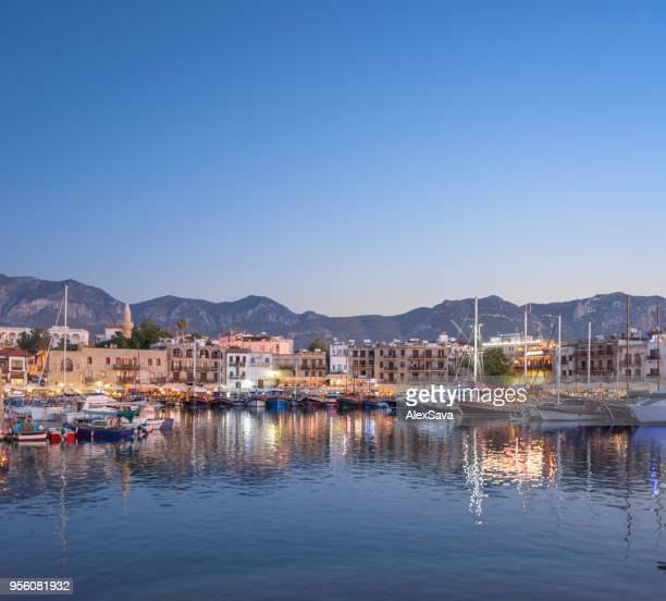 city by the sea - republic of cyprus stock pictures, royalty-free photos & images