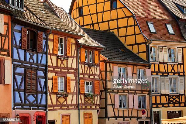 City center Of Colmar, Alsace, France