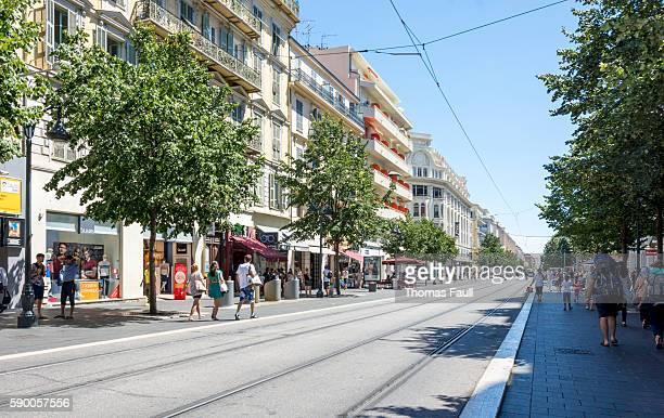 City Center of Nice, France