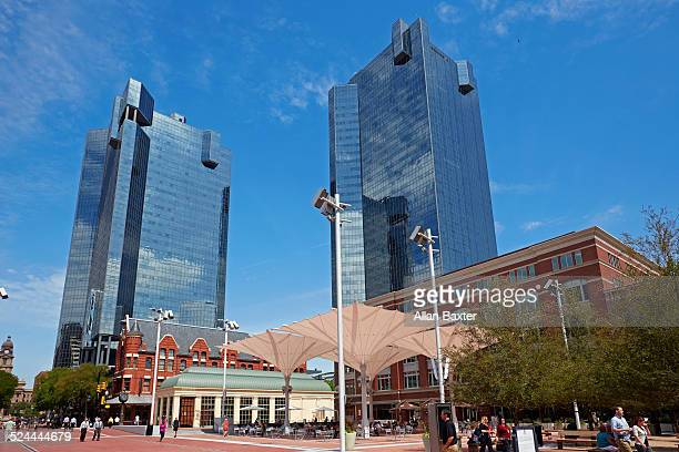 City Center Towers Complex in Fort Worth