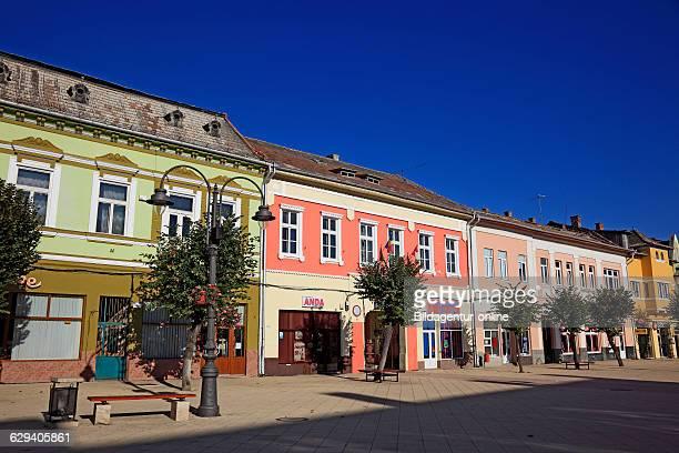 City center Turda German Thornburg a city in Cluj county in Transylvania Romania