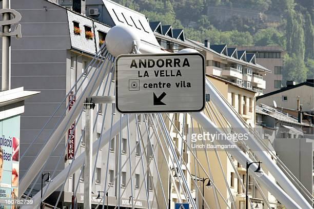 City centre of Andorra la Vella.