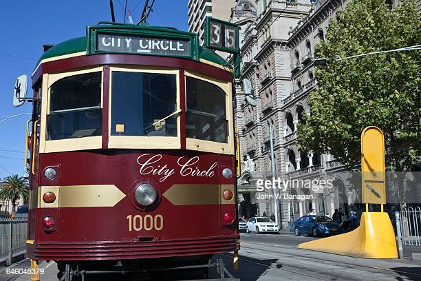 city circle tram, melbourne. - free of charge stock pictures, royalty-free photos & images