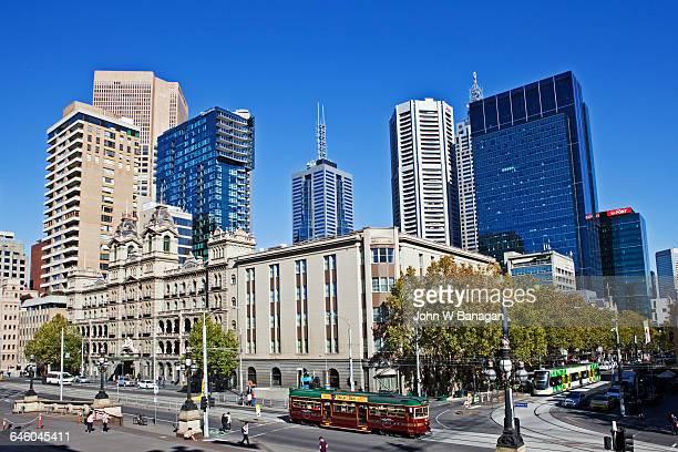 city circle tram, melbourne. - imagenes gratis fotografías e imágenes de stock