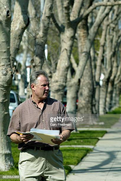 LA City Councilman Tom LaBonge is running for re–election from the fourth district He met with staff on 2/22/03 and then went to talk to constituents...