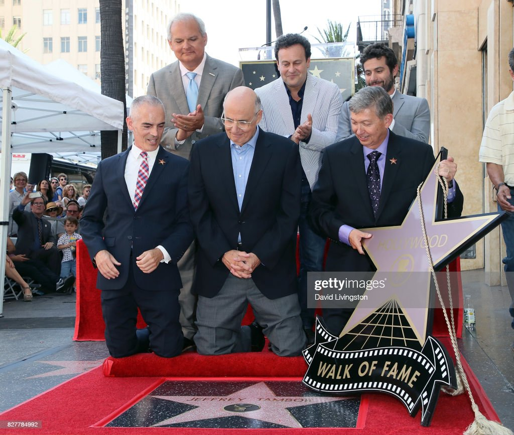 Jeffrey Tambor Honored With Star On The Hollywood Walk Of Fame