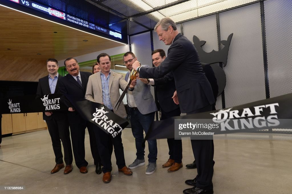 MA: DraftKings Headquarters Opening