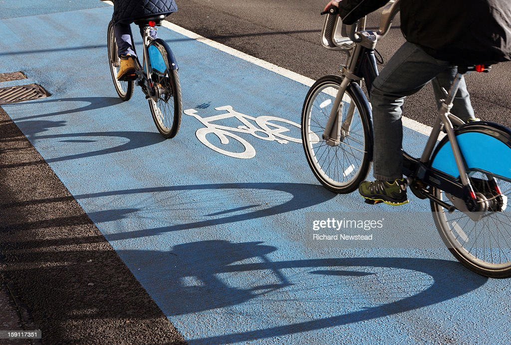 City Cyclists : Stock Photo