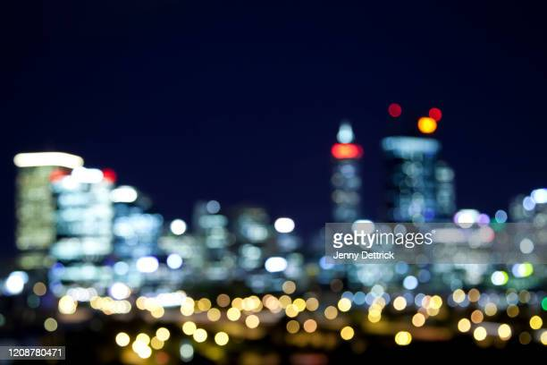 city defocused - perth australia stock pictures, royalty-free photos & images