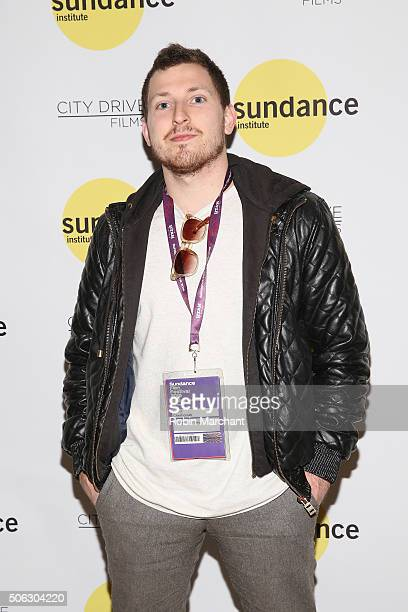 City Drive Films Scott Cherhoniak attends the Documentary Film Program Reception presented by City Drive during the 2016 Sundance Film Festival at...