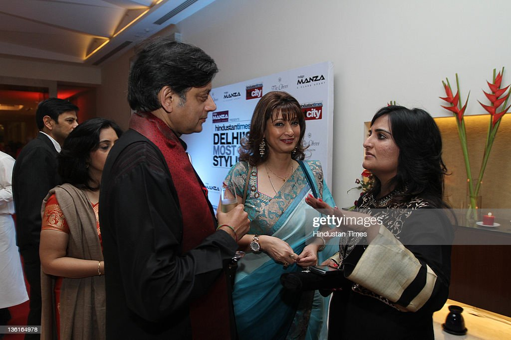 HT City Editor Sonal Kalra with former Union Minister of