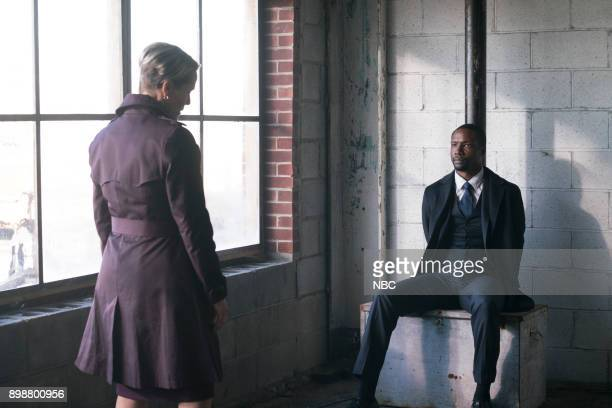 BLINDSPOT 'City Folk Under Wraps' Episode 308 Pictured Mary Stuart Masterson as Director Hirst Rob Brown as Edgar Reade